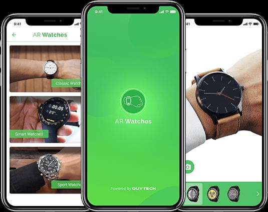 Mobile App Development Portfolio | AR/VR Portfolio - Quytech