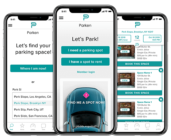 Parking Finder App Development Company Create Parking App For