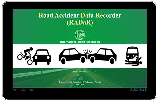 Mobile Application Radar – Road Accident Data Recorder